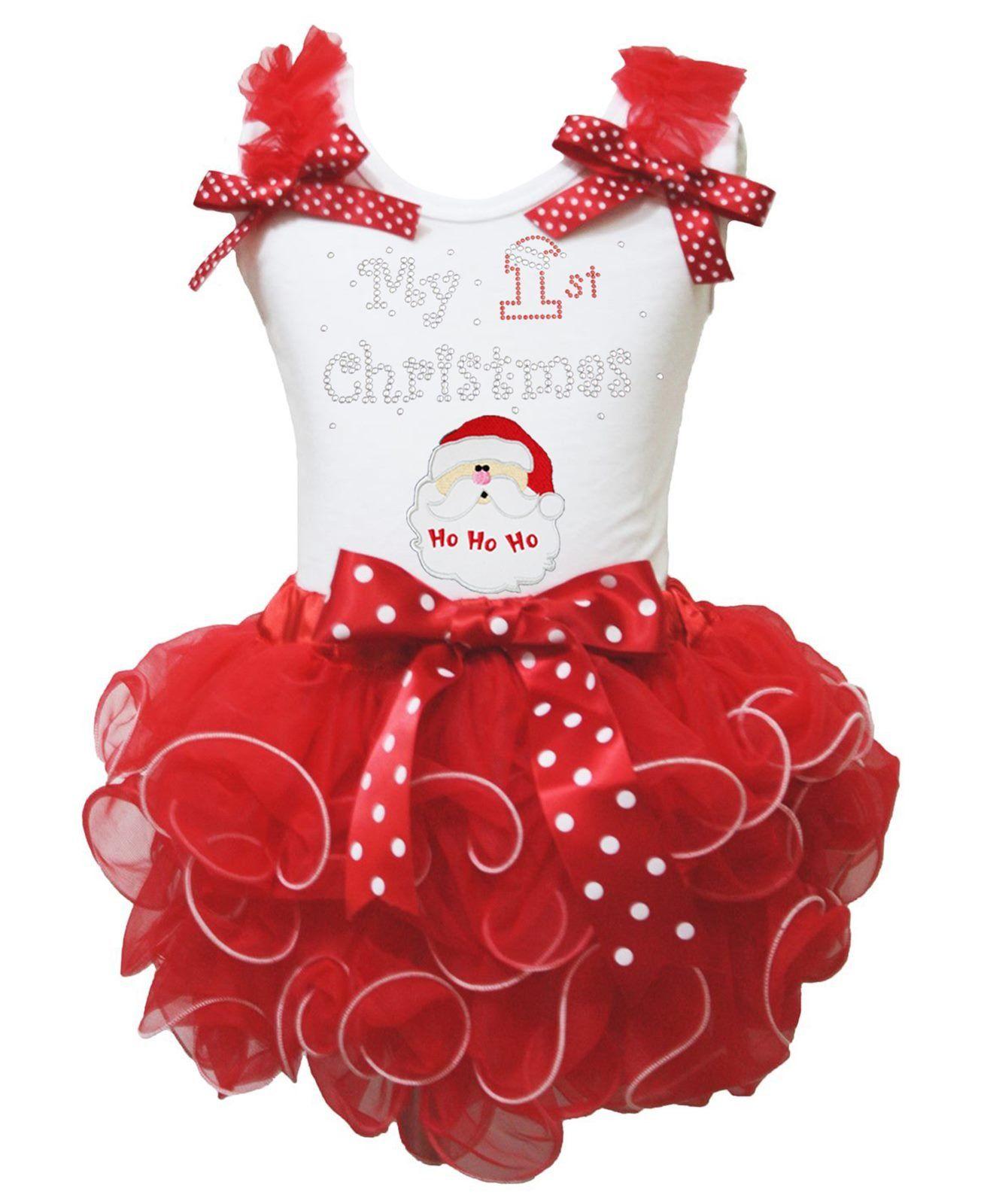 Petitebella Black White Polka Dots Petti Skirt 1-8y