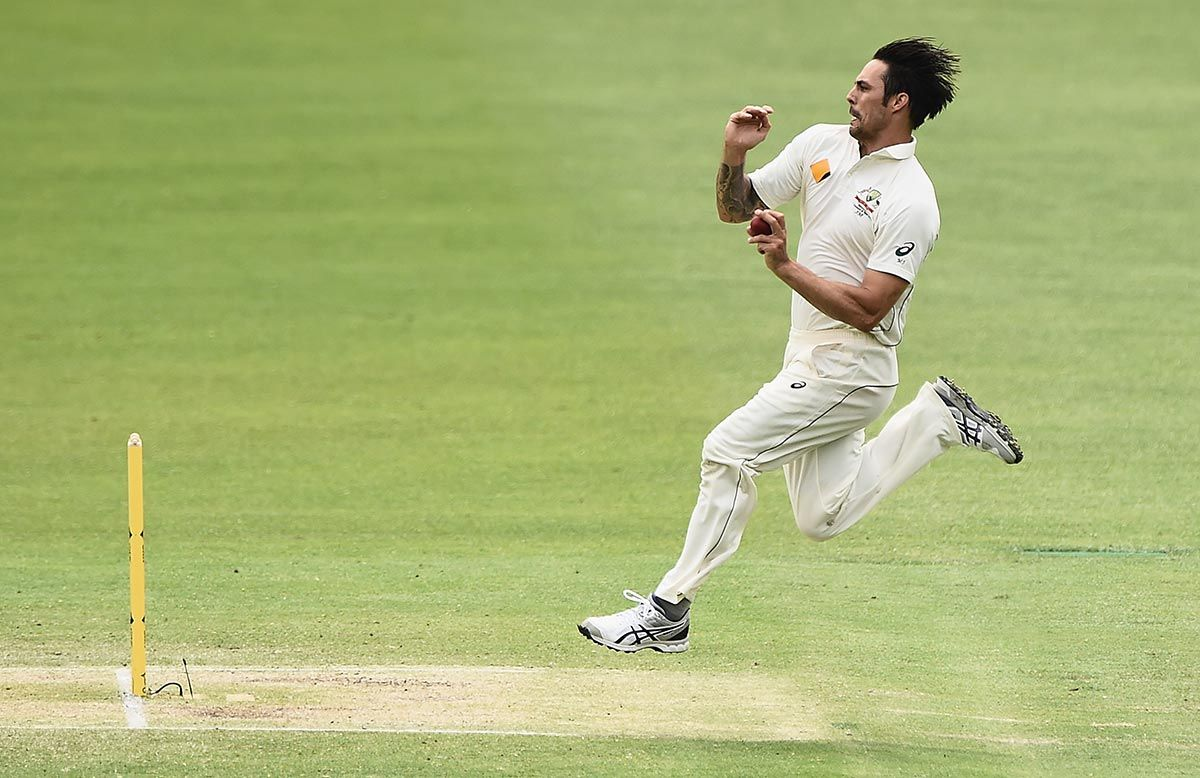 It Was Bowl Fast Or Not At All Mitch Australia Cricket Team Fast Bowling World Cricket
