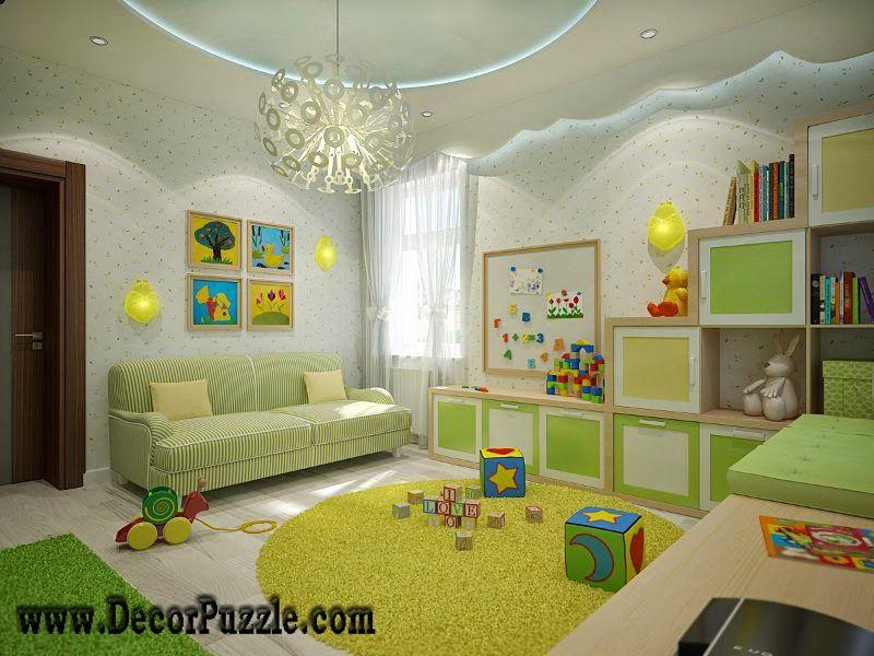 Nursery Ceiling Designs Plaster Of Paris Design Pop Designs - Plaster of paris design for bedroom