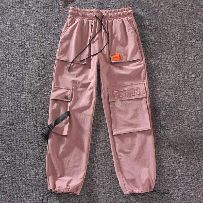 HARAJUKU STREETWEAR JOGGER PANTS - as pictuer / XL