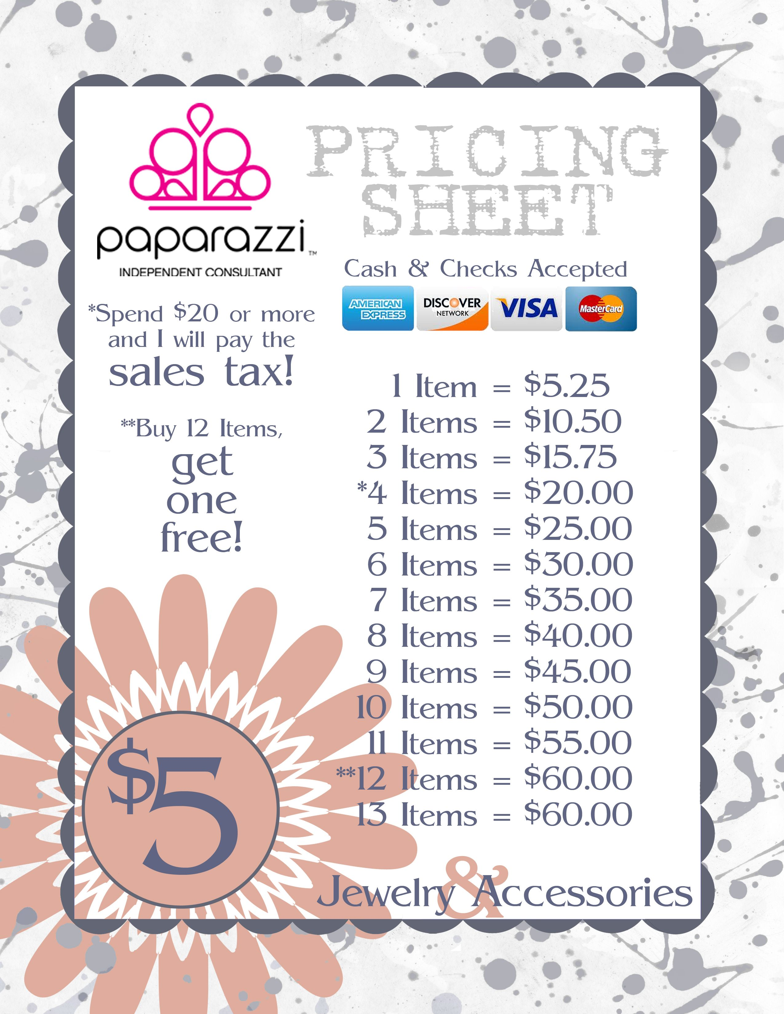 Paparazzi Accessories Free Printables Buy Paparazzi Jewelry Now - Free invoicing online jewelry store
