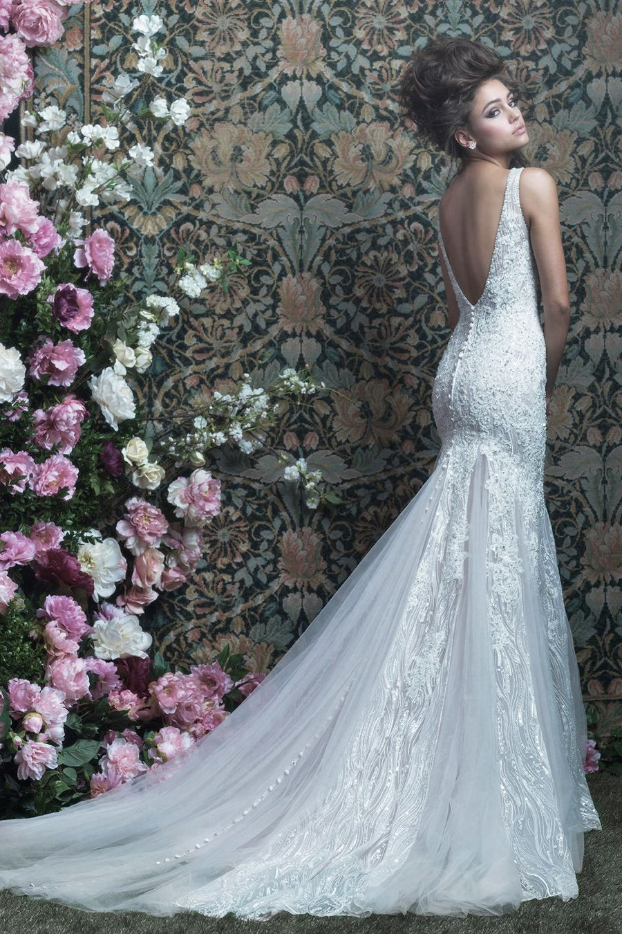 Allurebridals gorgeous gown from allure couture spring