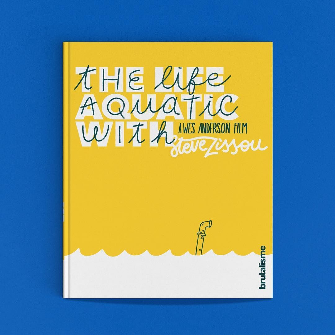 School Bookcover Design: Brutalisme On Instagram: The Life Aquatic With Steve