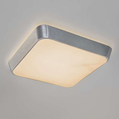 Deckenleuchte Anton 12W 700lm LED quadratisch Aluminium #Deckenlampe