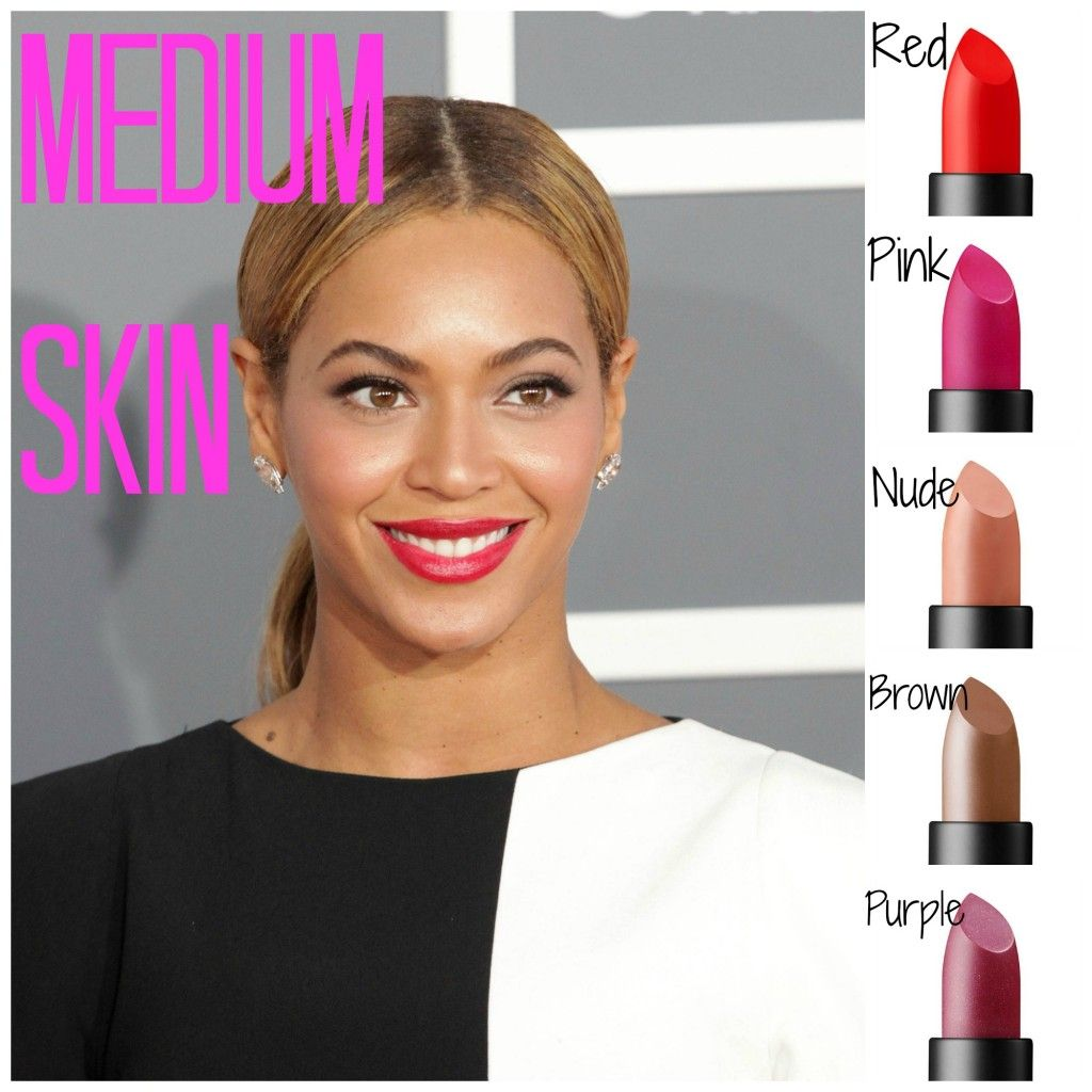 The Best Lipstick Shades For Your Skin Tone  Make-Up -1519