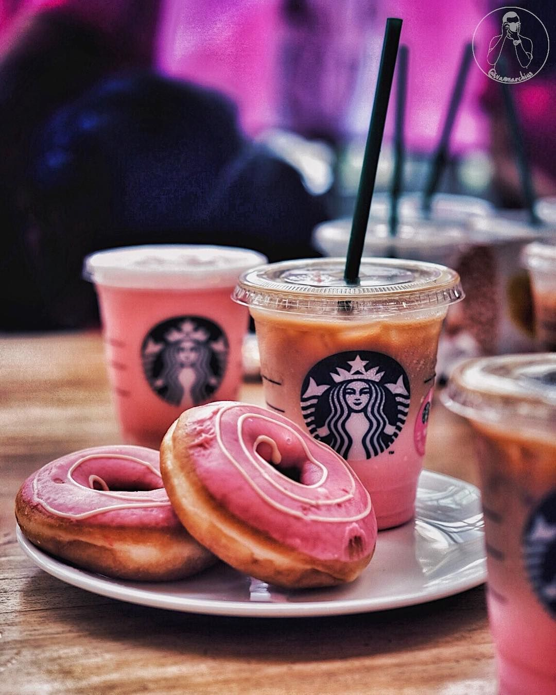 sweet warm coffee drinks at starbucks
