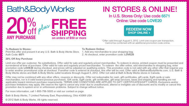 20 Off At Bath Body Works Or Online Via Checkout Promo Love20 Coupon Via The Coupons App Bath And Body Works Bath And Body Bath Body Works Coupon