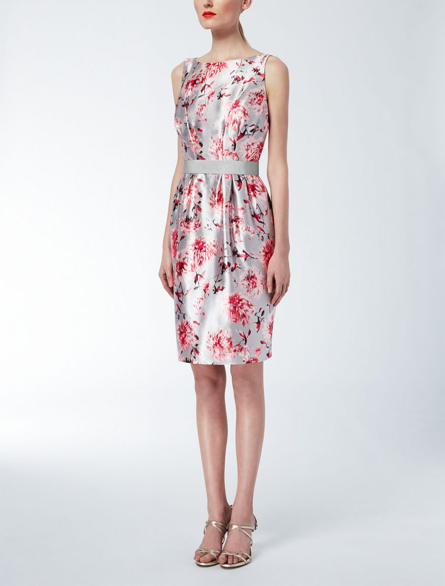 Silk Mikado Princess Dress - Max Mara Elegante  3b6b47832a9