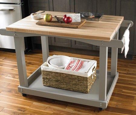 Carritos como mesa auxiliar en la cocina casa nueva - Amazon mesa auxiliar cocina ...