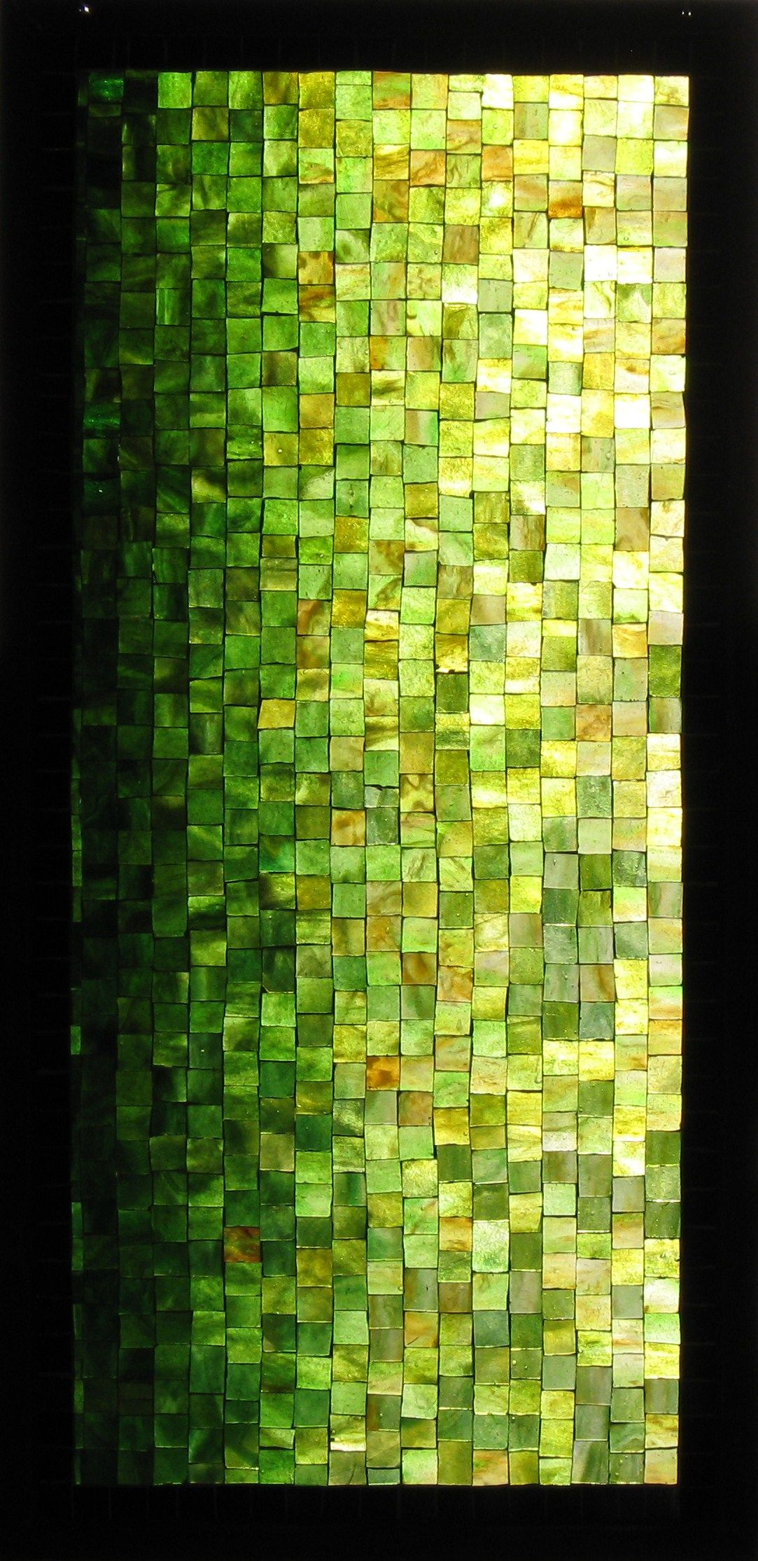 Prachtig groen mozaïek