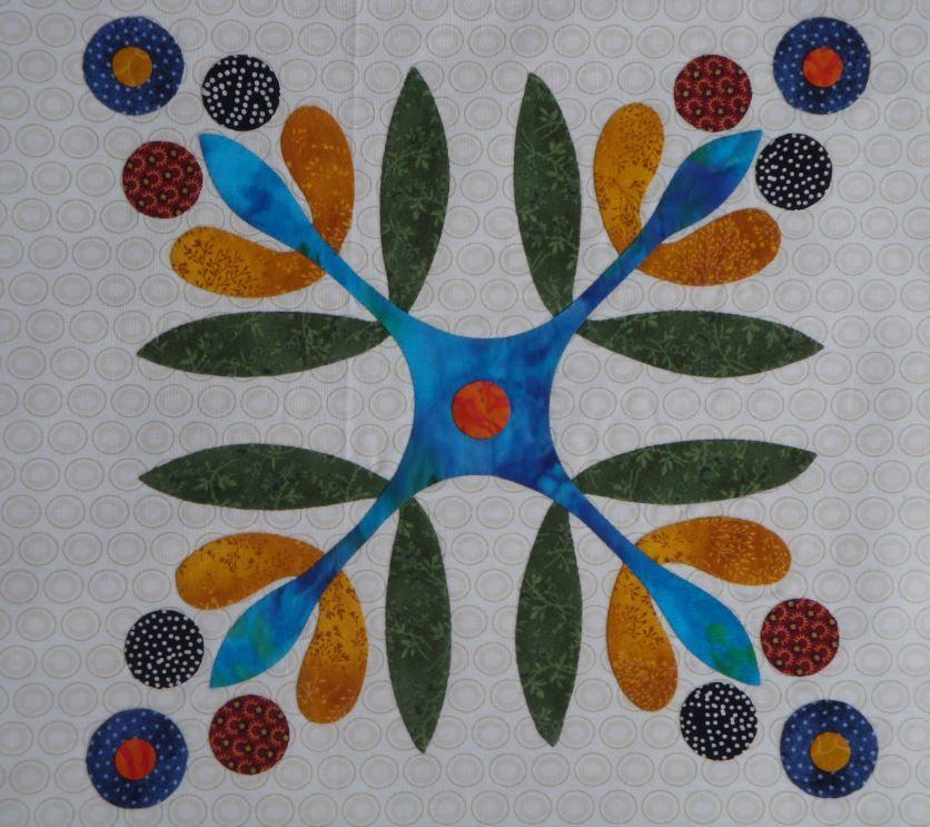 Block 12 - Applique Affair - Edyta Sitar. (Laila Nelson) | Quilts ...