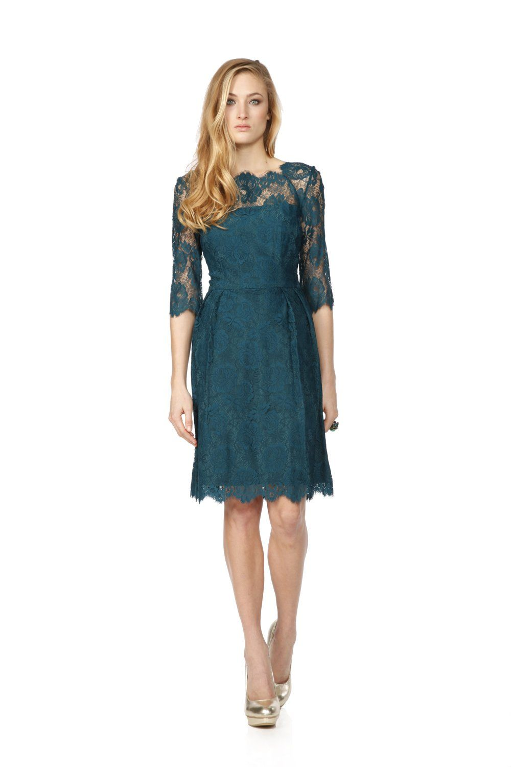 Mother wear for wedding  Sandie HoppGreen celia dress This would be amazing as a mother of