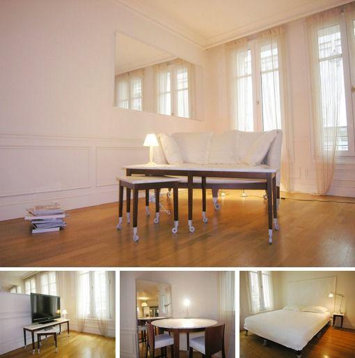 1 Bedroom Loft Apartment: 1 Bedroom Apartment, Paris Loft, Bedroom