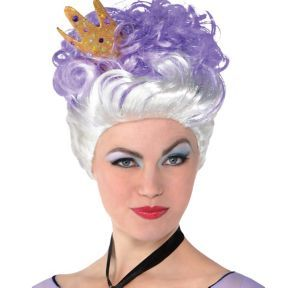 Ursula Wig Couture The Little Mermaid Party City 24 99 Ursula Wig Halloween Wigs The Little Mermaid