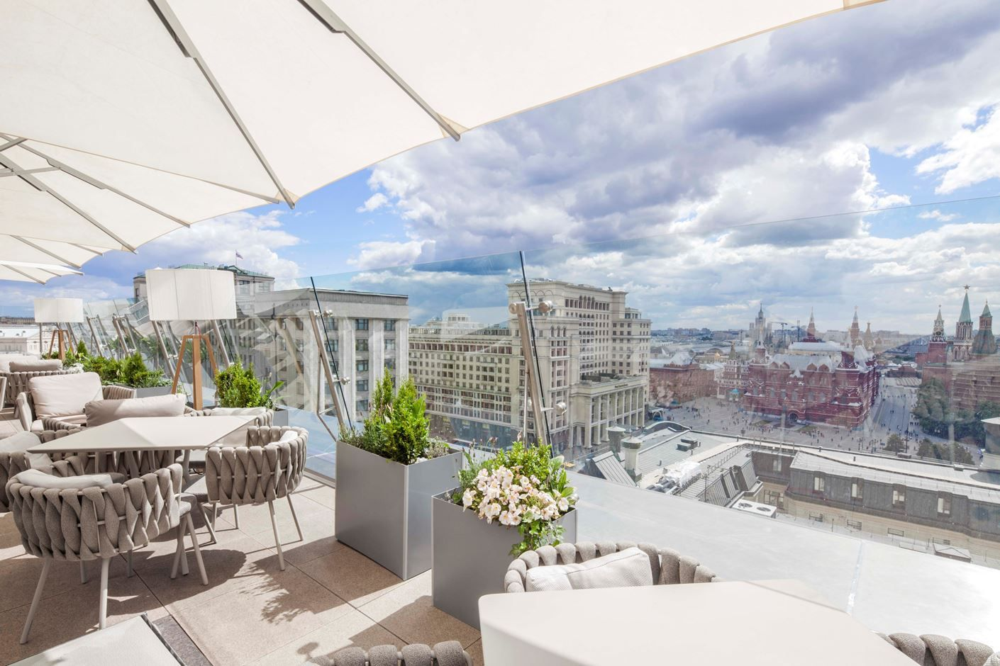 The Ritz Carlton Moscow / O2 Lounge Terrace - Picture gallery