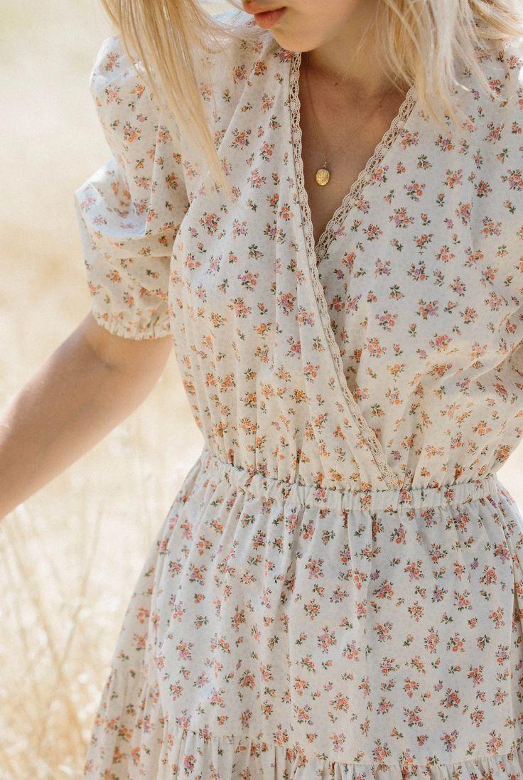 Primrose Dress – XS / English Rose