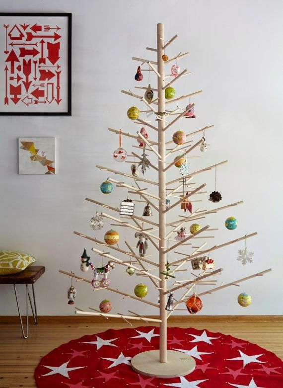 Could make this in 2 dimensions to stand against a wall wood dowel diy christmas could make this in 2 dimensions to stand against a wall wood dowel solutioingenieria Image collections