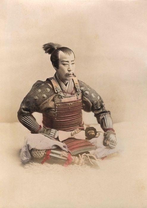 Ogawa Kazumasa, Samurai, 1890 circa