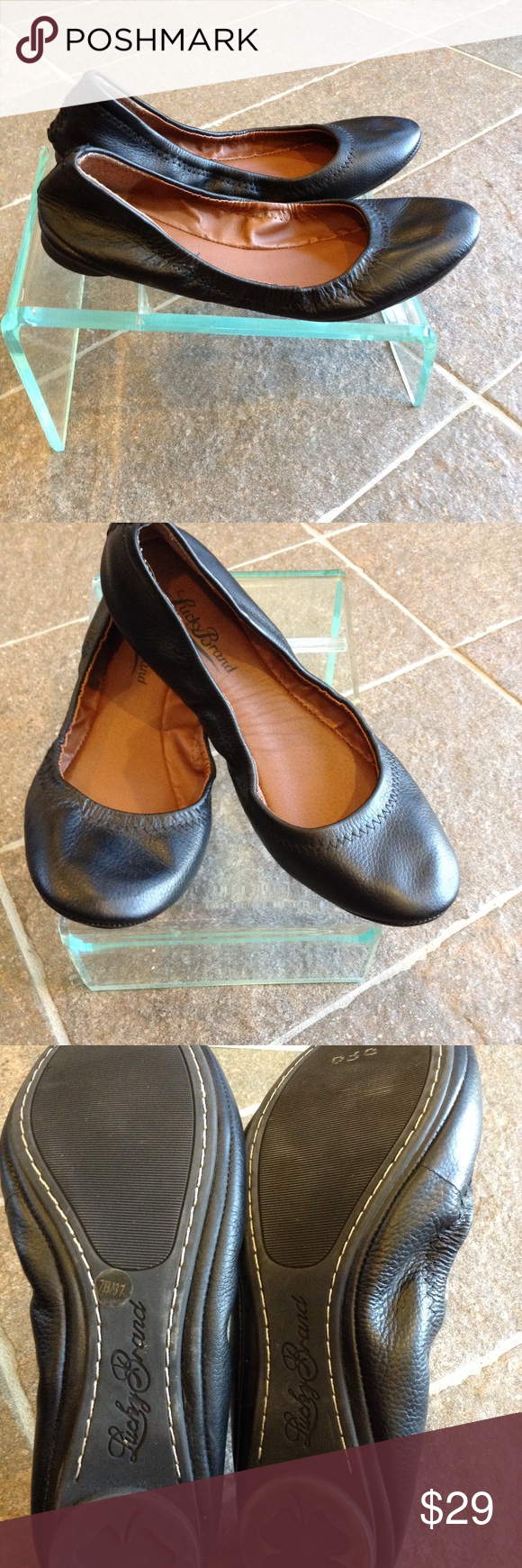 dd94ce37d Lucky Brand black flats size 7 Very good condition Lucky Brand Shoes Flats  & Loafers