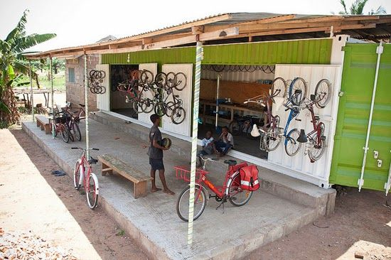 Re-cycle Bikes to Africa, Ghana www.re-cycle.org via Fickr