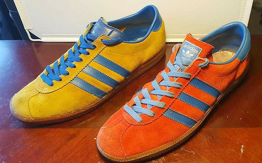 buy popular aff70 410f9 Wonderful vintage Adidas Malmo, made in West Germany and Austrian Rouge