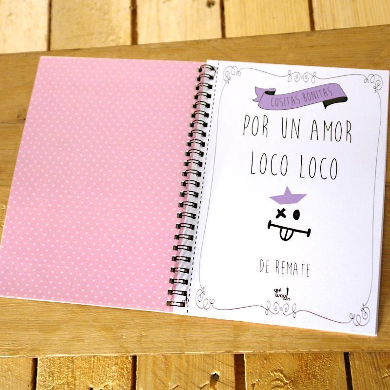 Las páginas del libro de las cositas bonitas para decirnos tu y yo se pueden recortar para usarlas como postales que puedes enmarcar. Cómpralo ya en: www.queway.es