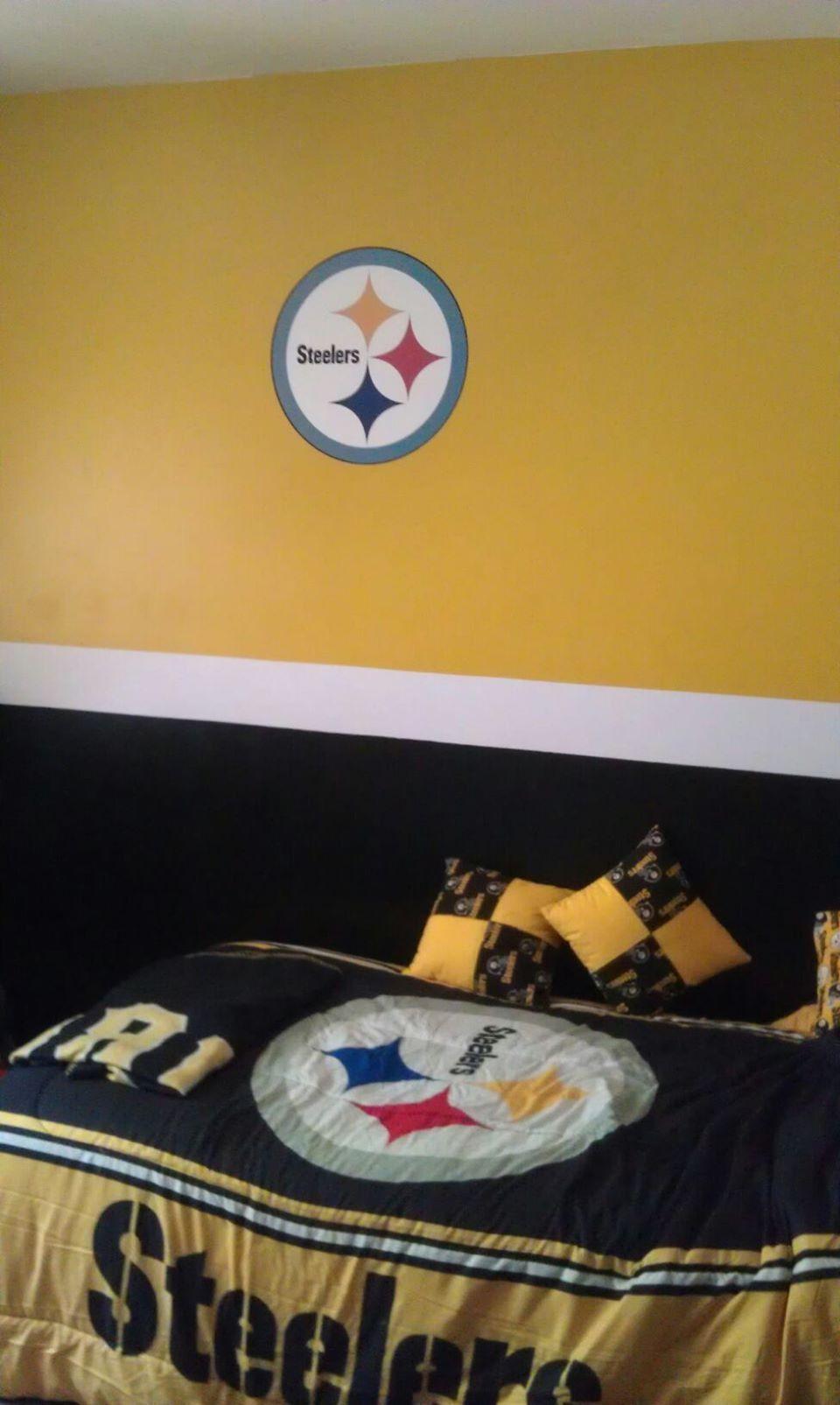 Steeler Room  Steelers, Steeler nation, Pittsburgh