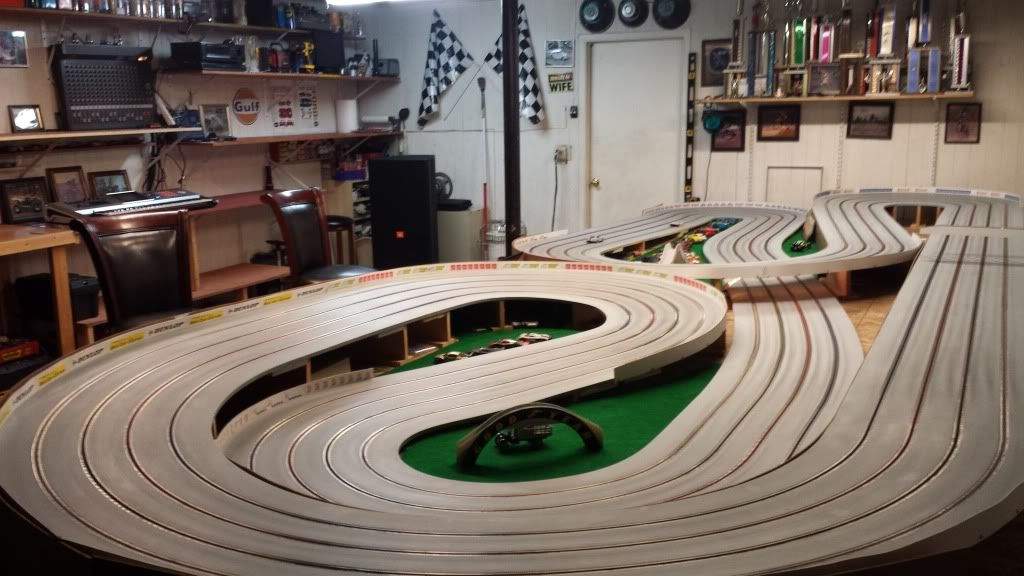 Awesome Basement Slot Cars Slot Car Tracks Slot Car Racing