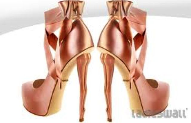 Balerina heels