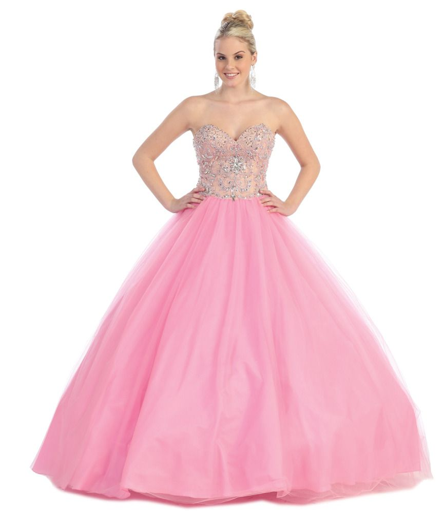 Dream Barbie Ball Gown Perfect For Prom Or Quinceanera   The Dress ...