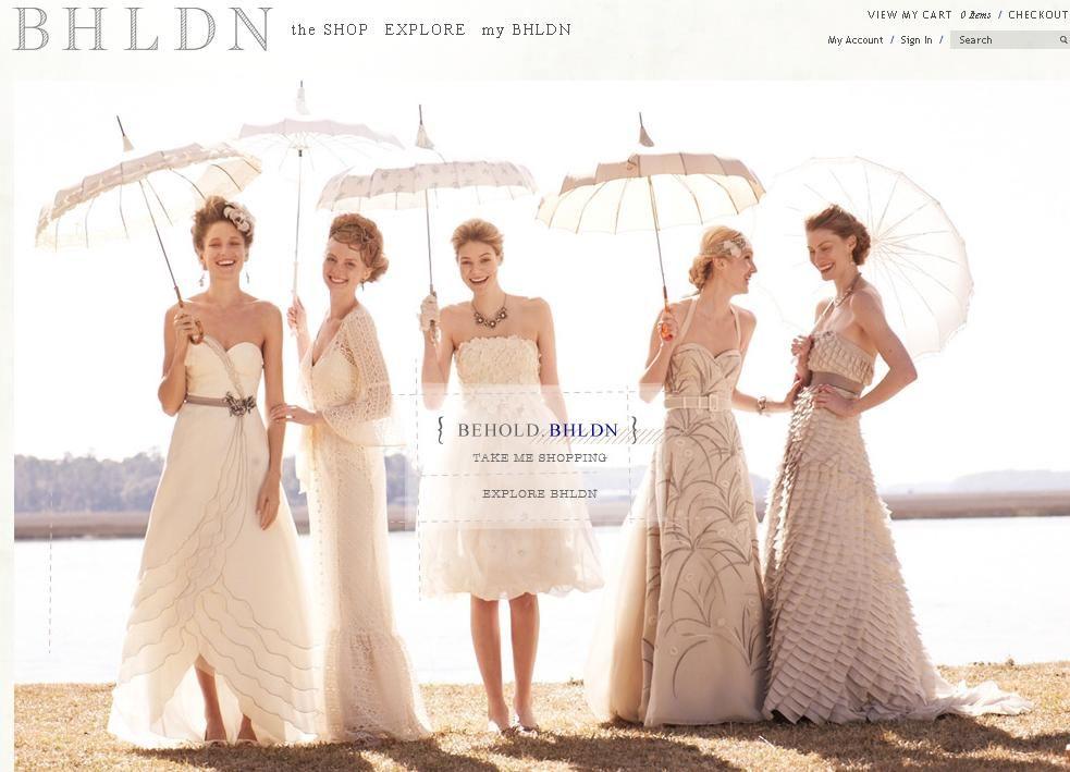 Anthropologie Bridal | Buzz: Anthropologie\'s Wedding Gowns Pt. 2 ...