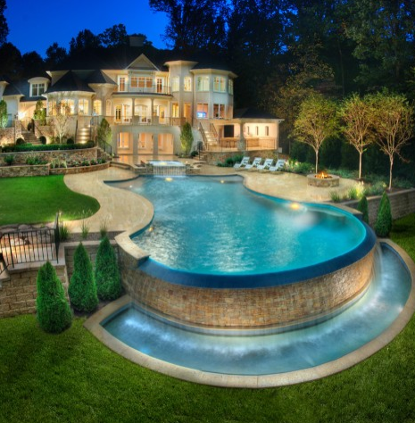Conspicuous Style Interior Design Blog: SUMMER!!! Dream pools and outdoor spaces