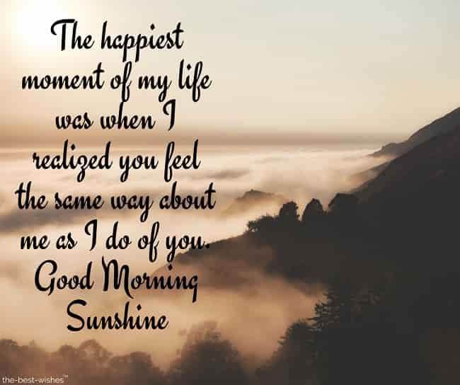 Lovely Good Morning Sunshine Images Best Collection Quotes