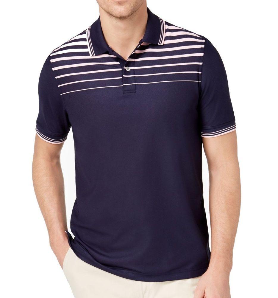 Club Room NEW Blue Mens Size 3XL Short-Sleeve Button Down Striped Shirt  65  042 850b0df025