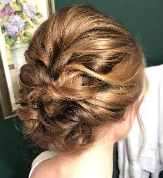 25 Chic Braided Updos For Medium Length Hair Hairstyles Weekly Updos For Medium Length Hair Medium Length Hair Styles Hair Lengths