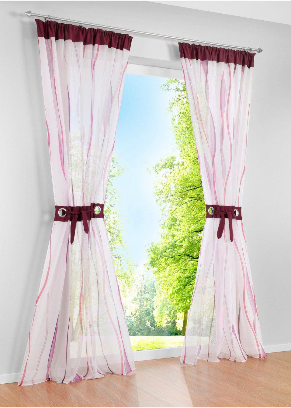 stilsichere gardine gardines pinterest bpc living gardinen und transparente gardinen. Black Bedroom Furniture Sets. Home Design Ideas