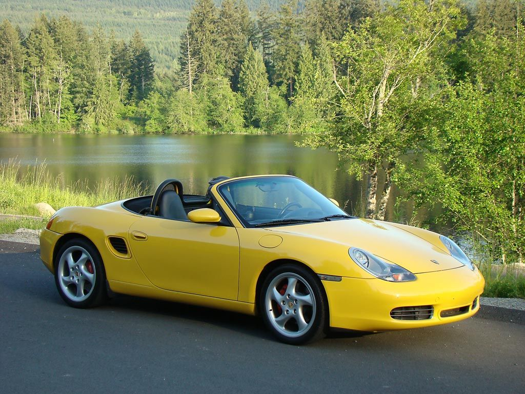 The Official Yellow Boxster Thread Porsche Boxster
