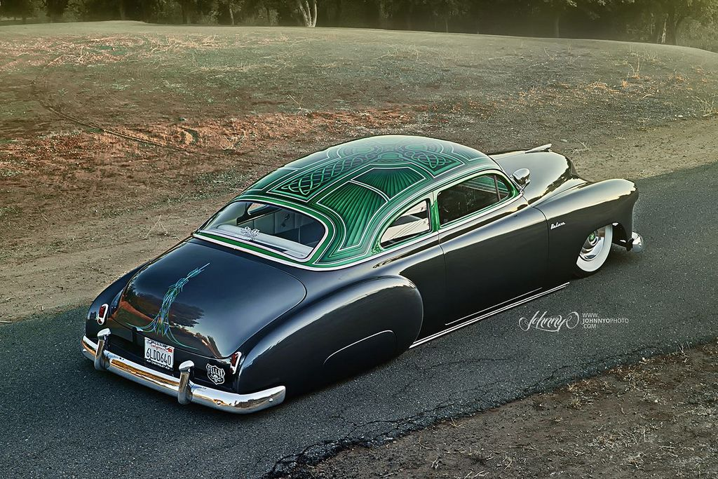"""1950 Chevy """"Lucky"""" Deluxe Custom cars paint, Lowrider"""