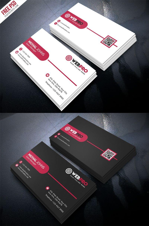 200 Free Business Cards Psd Templates Business Card Template Photoshop Download Business Card Visiting Card Design Psd