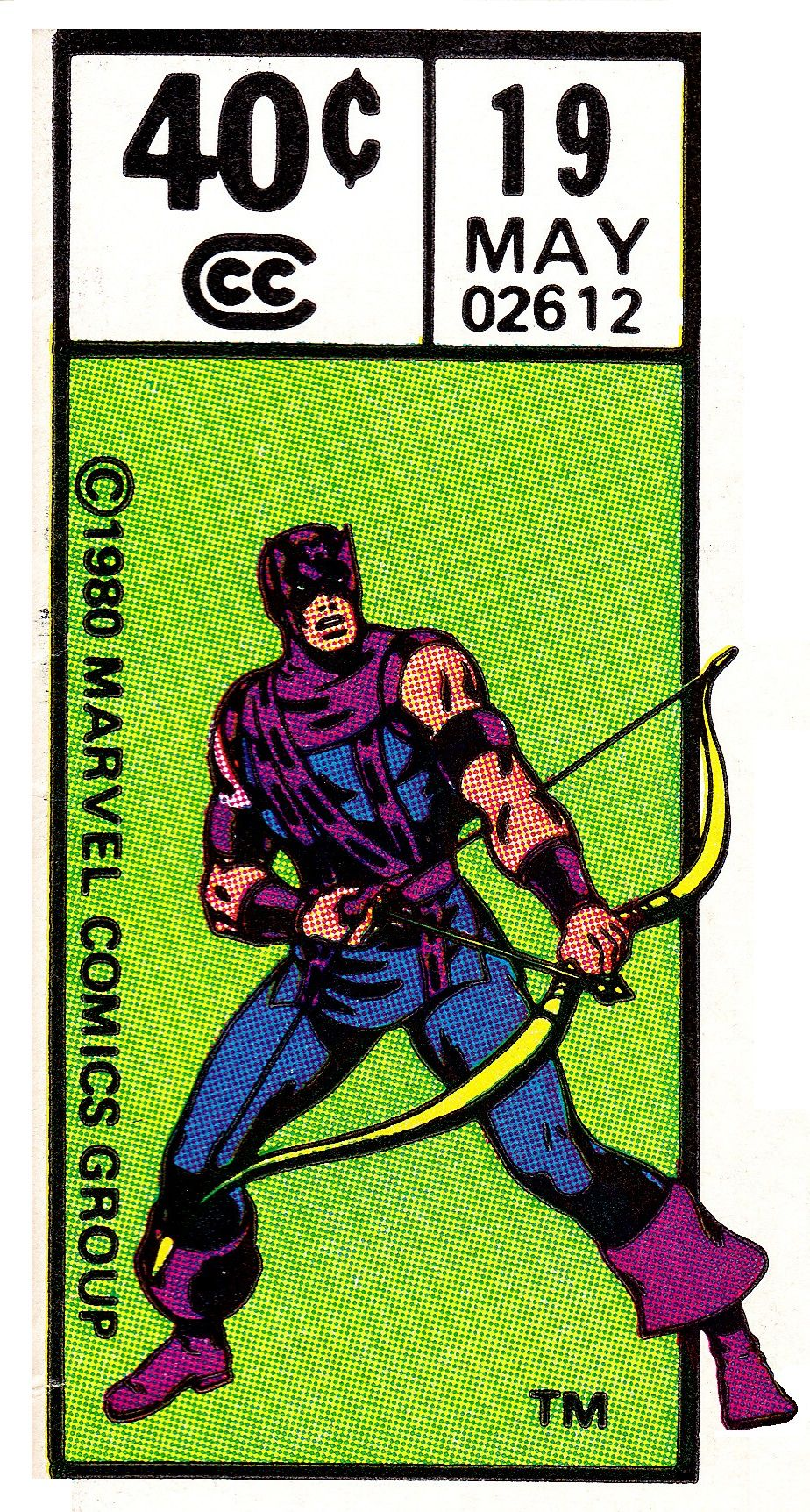 Hawkeye Corner Box Art