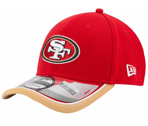 San Francisco 49ers NFL New Era 3930 Sideline Cap new with