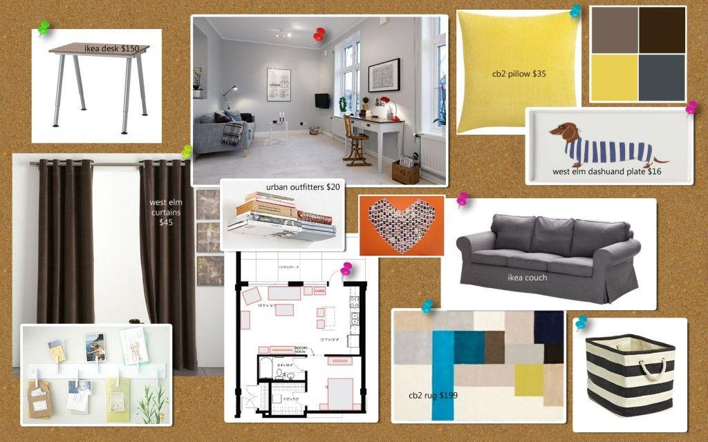 Living Room moodboard