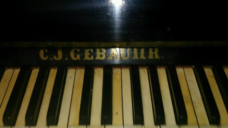 Klavier C.J.Gebauhr Königsberg in Musikinstrumente, Tasteninstrumente, Klaviere & Flügel   eBay!