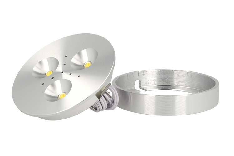 Plafoniera Led 12v Camper : A zworld mini plafoniera faretto led slim w v bianco caldo per