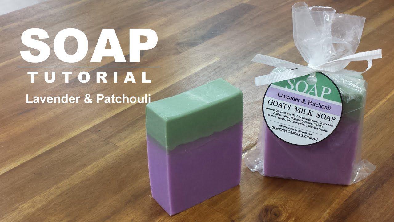 Lavender and patchouli melt and pour soap patchouli soap