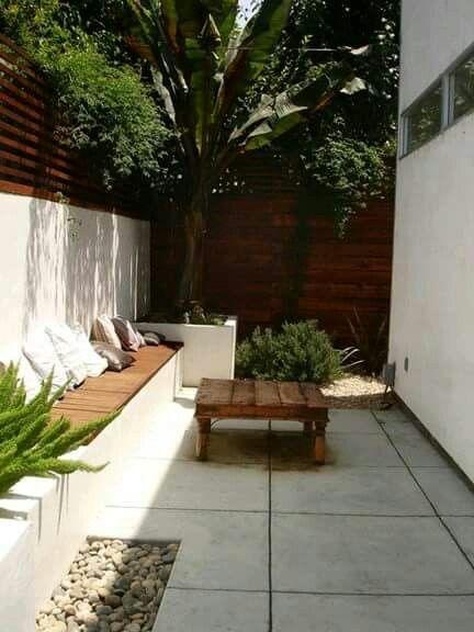Patio trasero decoration pinterest patio trasero for Jardines traseros pequenos