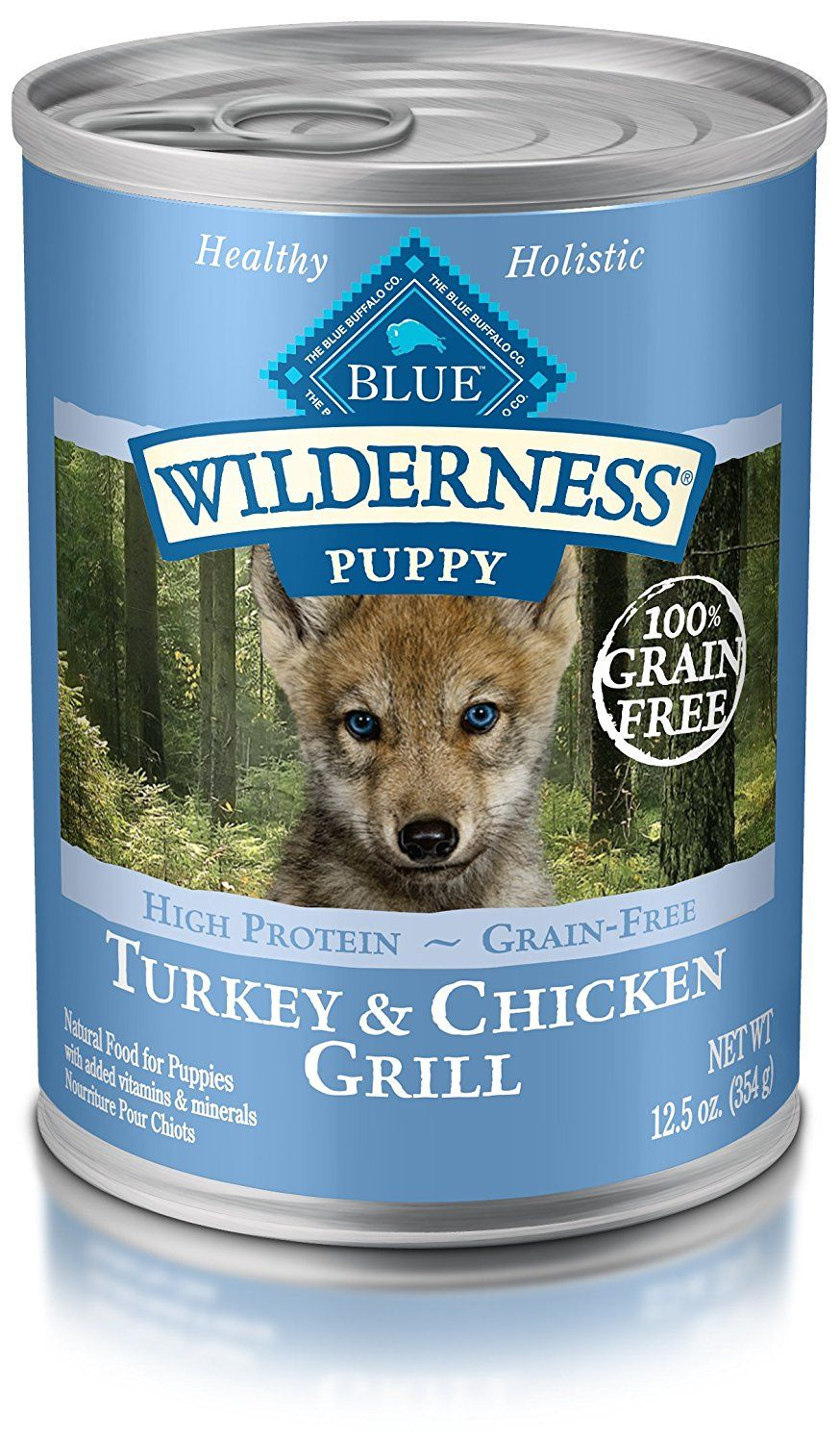 Blue Buffalo Wilderness High Protein Wet Puppy Food Read More