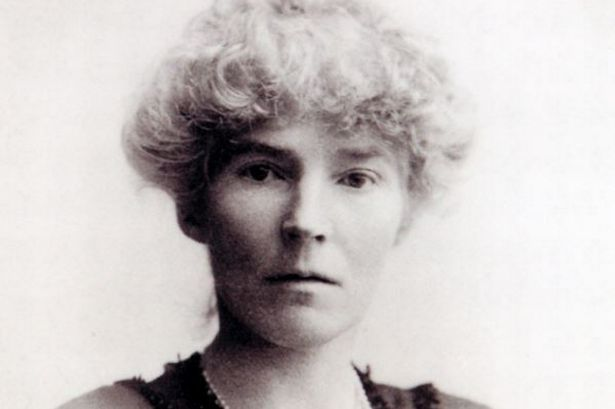 "Gertrude Bell.""...reddish hair and piercing blue-green eyes..."""