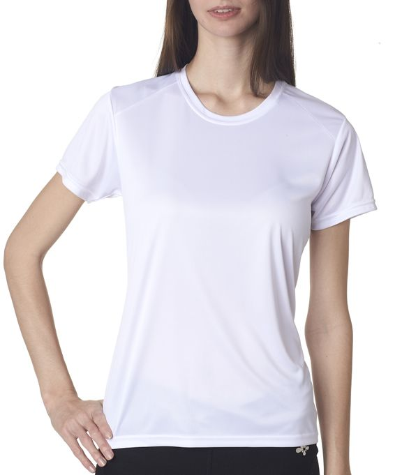 Nw3201 A4 Cooling Performance Ladies Crew Neck T Shirt Neck T