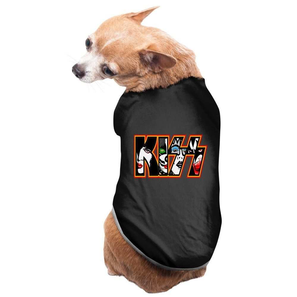 5025872f5cf Black Kiss Band American Hard Rock Band Love Gun Pet Dog Shirt Puppy Coat      You can get more details by clicking on the image. (This is an  affiliate link ...